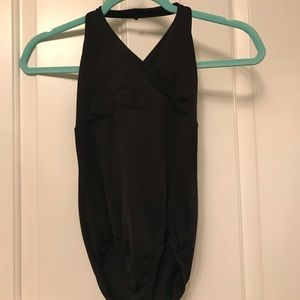 Capezio halter top leotard